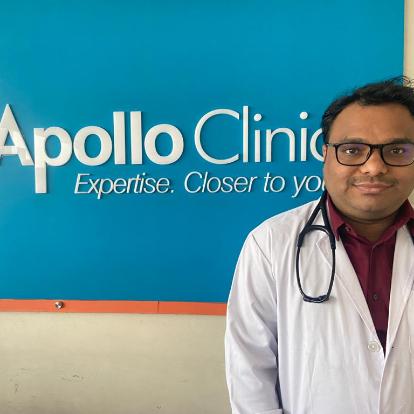 Dr. Srikanth Mote, General Physician/ Internal Medicine Specialist Online