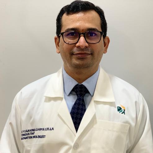 Dr. Yugandhar Sarma L, Radiation Specialist Oncologist Online